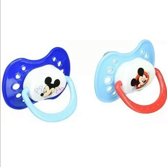 Disney Mickey Mouse Pacifier 2 Pack